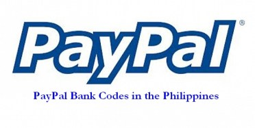 paypal-bank-codes-in-the-philippines