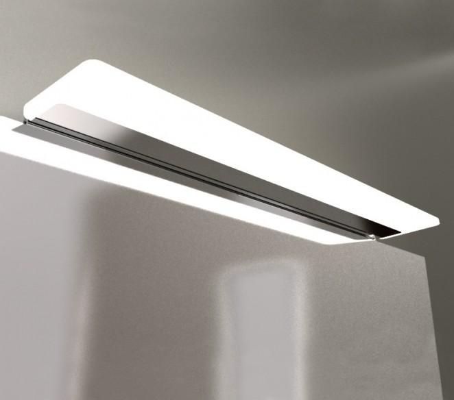84 cm., in metallo cromato, ideale per l' illuminazione di specchi e quadri. Lampada Led Specchio Bagno Katherine S2 Mit Design Store
