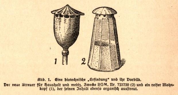 Der Klatschmohn oder die Erfindung des Salzstreuers