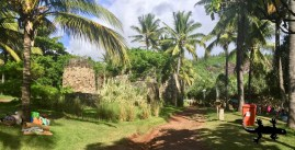 Old lime factory in Grande Anse