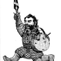 Cheese Wheel Warrior