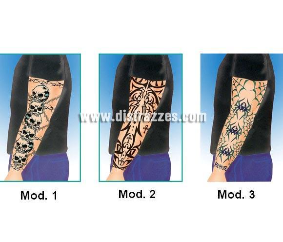Tatuajes Góticos Brazo Completo 3 Modelos Por Sólo 125