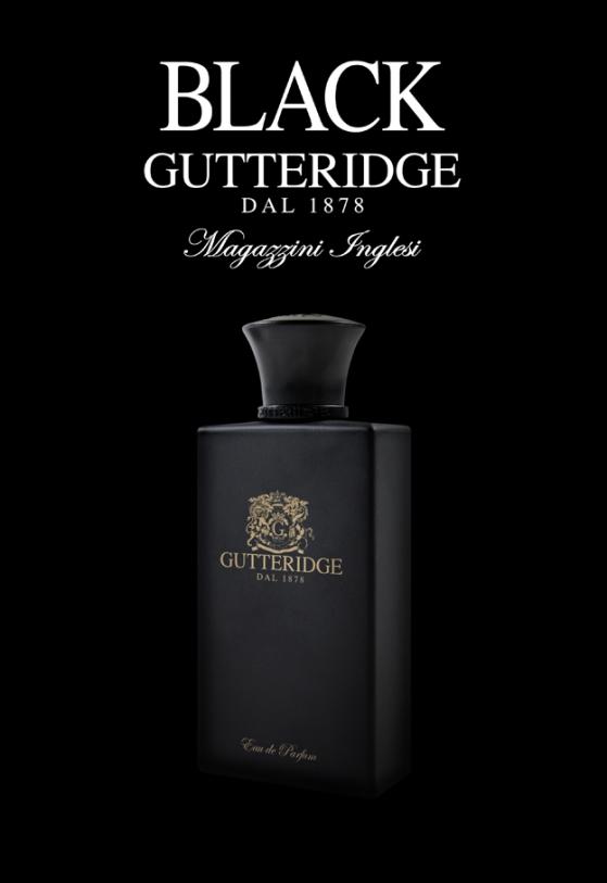 Gutteridge Black la nuova inconfondibile fragranza per