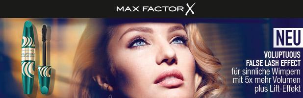 Voluptuous False Lash Effect – die neue Mascara von Max Factor!