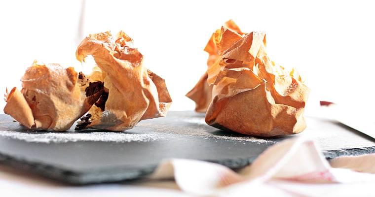 Nutella-Marshmallow-Täschchen