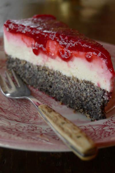 TopfenMohntorte glutenfrei  glutenfreie Rezepte  Torten