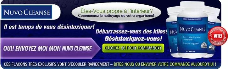 Cliquez ici pour NuvoCleanse!