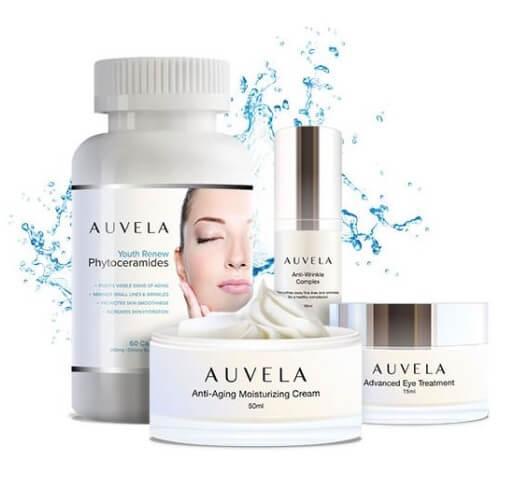 système de soins cutanés Auvela