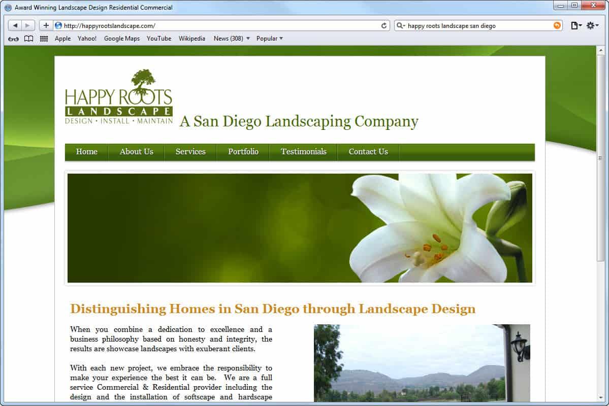 website design homepage | ideasidea