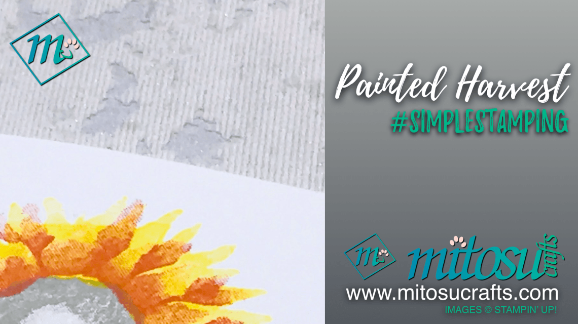 Painted Harvest #simplestamping