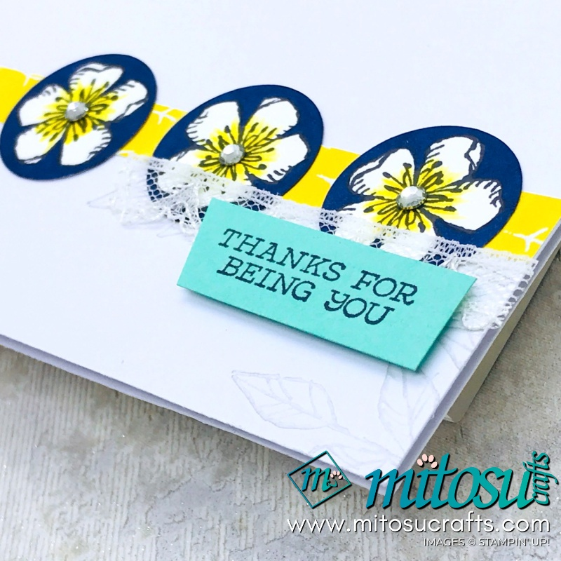 Free As A Bird #simplestamping Floral Card for Stamp Review Crew from Mitosu Crafts