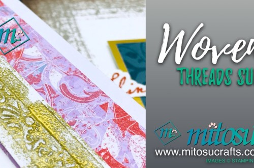 Woven Threads Suite for The Gentlemen Crafters Design Team Inspiration Hop from Mitosu Crafts 1