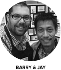 The Gentlemen Crafters Design Team - Barry & Jay TGCDT