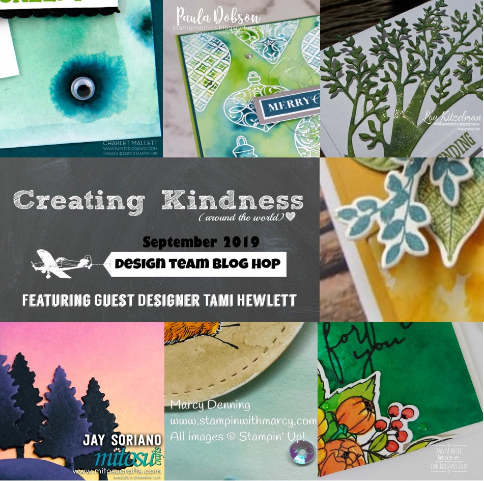 Creating Kindness Ink Refills Technique with Tami Hewlett from Mitosu Crafts