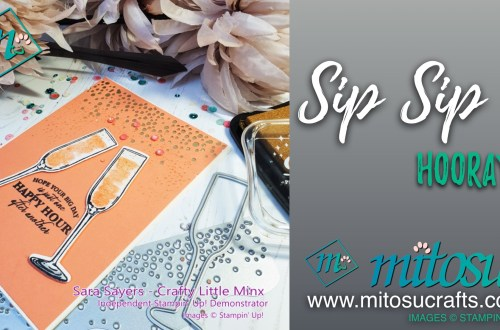 Sip Sip Hooray available from Mitosu Crafts online shop 24:4