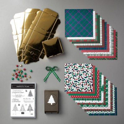 All items from the Wrapped In Plaid Suite available from Mitosu Crafts