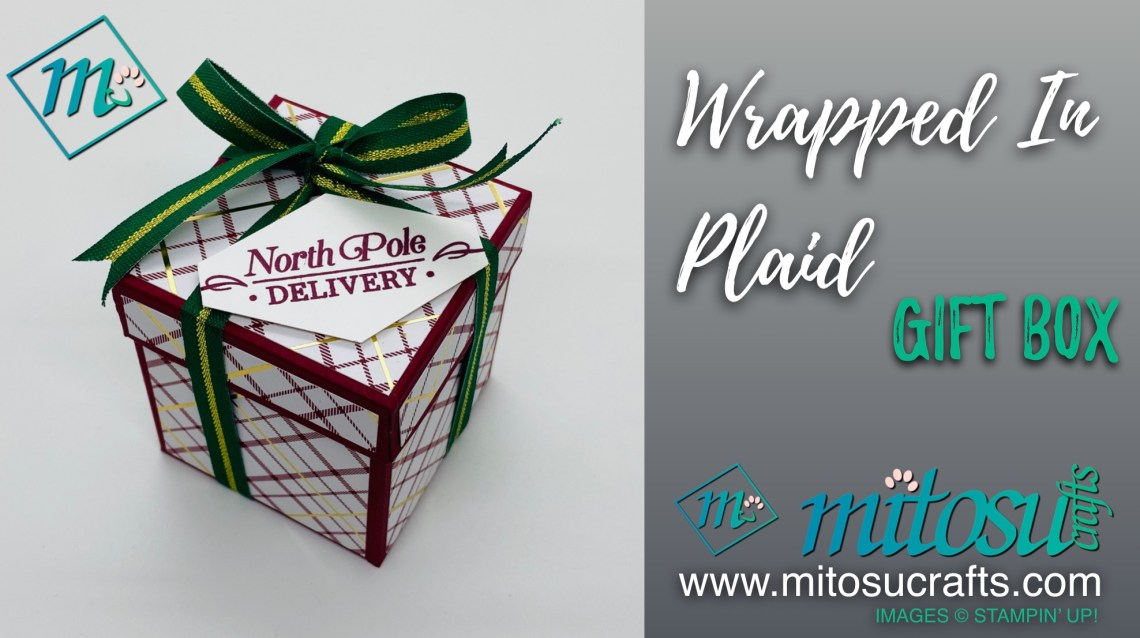 Wrapped In Plaid Gift Box