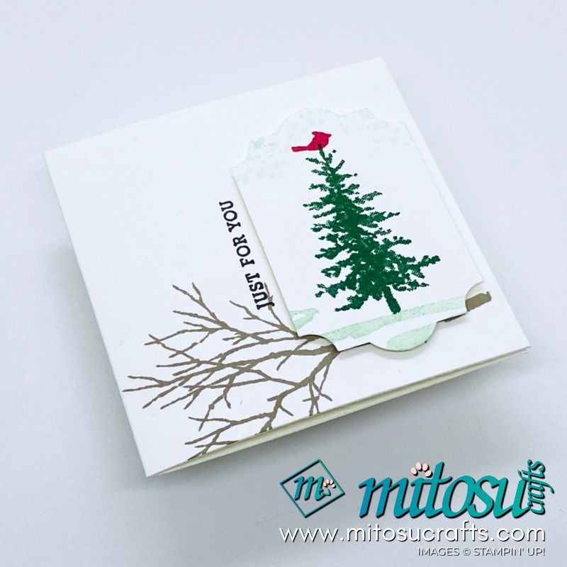 Stampin Up! Snow Front Stamp Card Ideas for Stamp Review Crew Hop from Mitosu Crafts