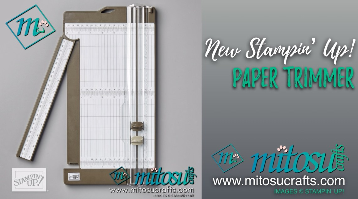 Stampin' Up! Paper Trimmer available from Mitosu Crafts