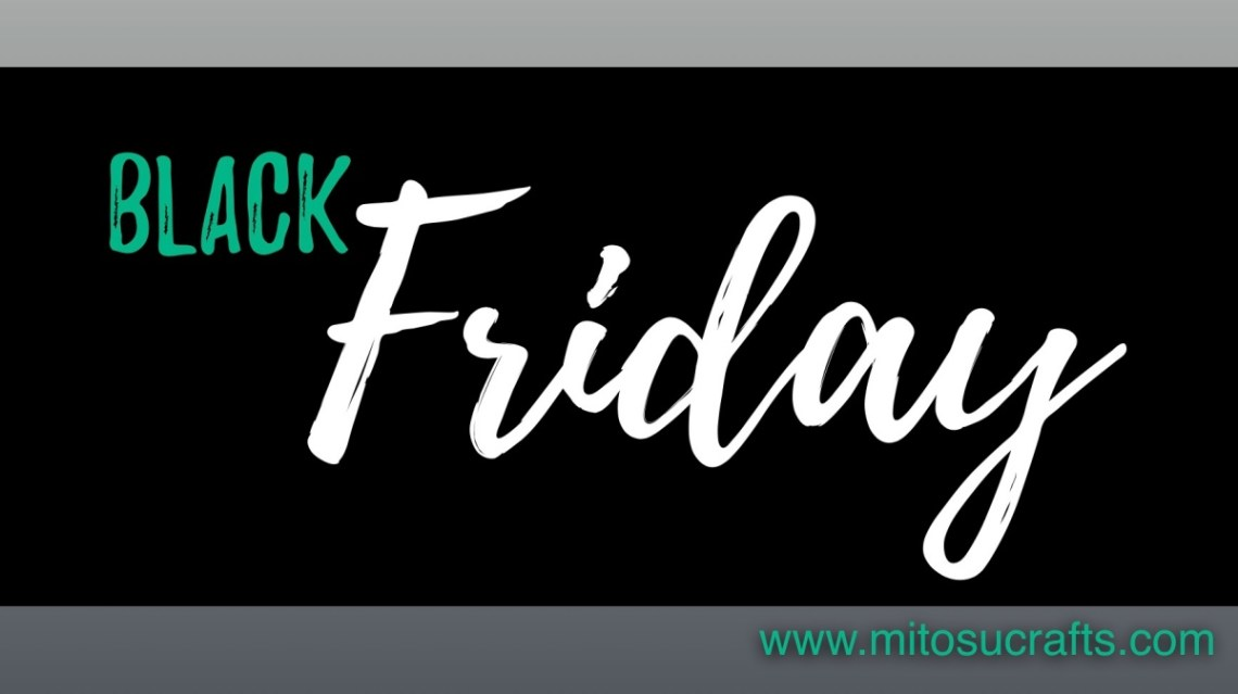 Black Friday Stampin Up! Cardmaking and Papercraft Products from Mitosu Crafts