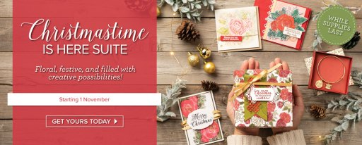 Christmastime Is Here Stampin' Up! Product Medley from Mitosu Crafts
