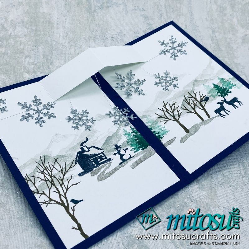 Snow Front Fancy Fold from Mitosu Crafts
