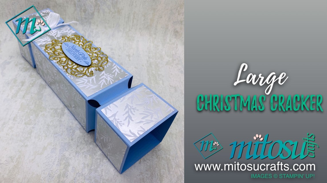 Large Christmas Cracker from Mitosu Crafts