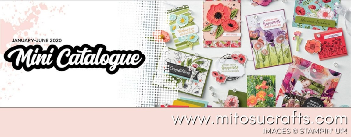 January-June 2020 Mini Catalogue by Stampin' Up! from Mitosu Crafts