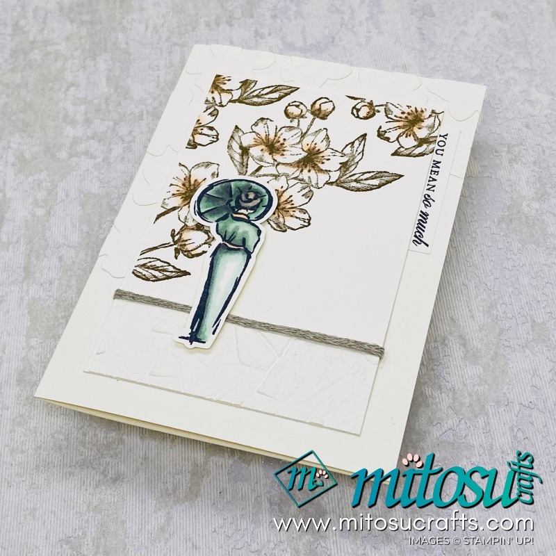 Forever Blossoms and Cherry Blossoms Dies Bundle with Power of Hope Stampin Up Card Idea for Stamp Review Crew from Mitosu Crafts