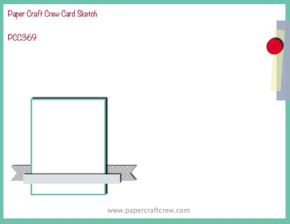 Paper Craft Crew card sketch challenge inspiration #PCC369 from Mitosu Crafts