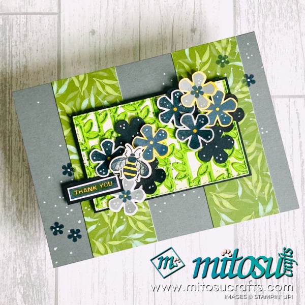 Stampin Up Thoughtful Blooms for The Spot Creative Challenge Inspiration from Mitosu Crafts UK