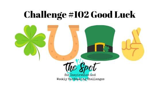 The Spot Creative Challenge #thespotchallenge101 Good Luck & Encouragement Theme Inspiration from Mitosu Crafts UK