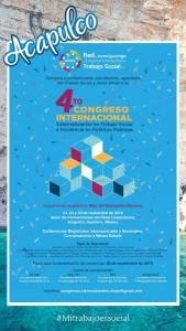 IV CONGRESO INTERNACIONAL DE LA RED DE INVESTIGACIONES Y ESTUDIOS AVANZADOS DE TRABAJO SOCIAL.