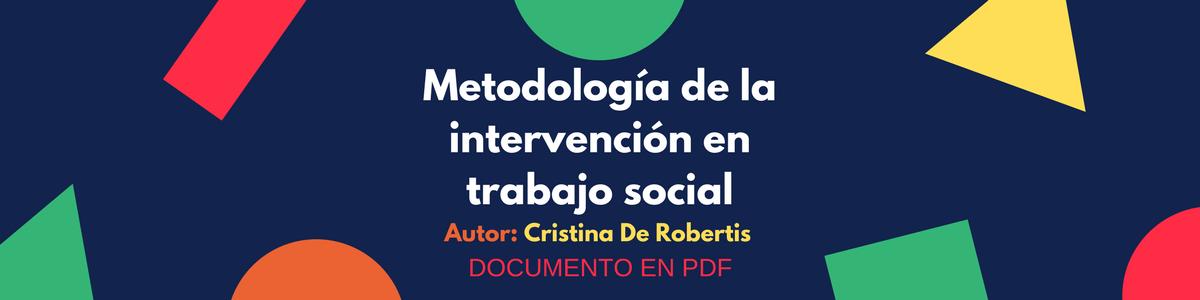 Metodología de la intervención en trabajo social