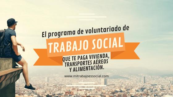trabajo social El programa de voluntariado