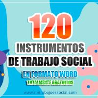 120 INSTRUMENTOS DE TRABAJO SOCIAL (plantillas)