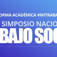 MAGNO SIMPOSIO NACIONAL DE TRABAJO SOCIAL 2020