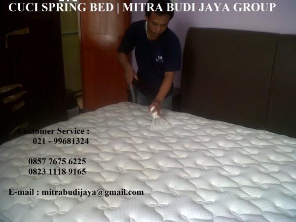 Jasa Cuci Springbed Profesional di Tangerang Banten