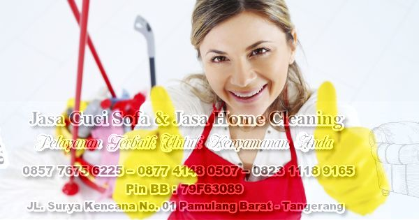 Jasa Cleaning Service Rumah (Home Cleaning) Tangerang