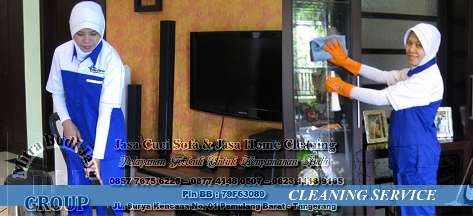 Jasa Kebersihan Rumah (Home Cleaning Service) Tangerang