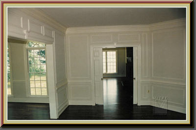 chair rail profiles outdoor baby portable high wainscoting or shadowboxes? - mitre contracting, inc.