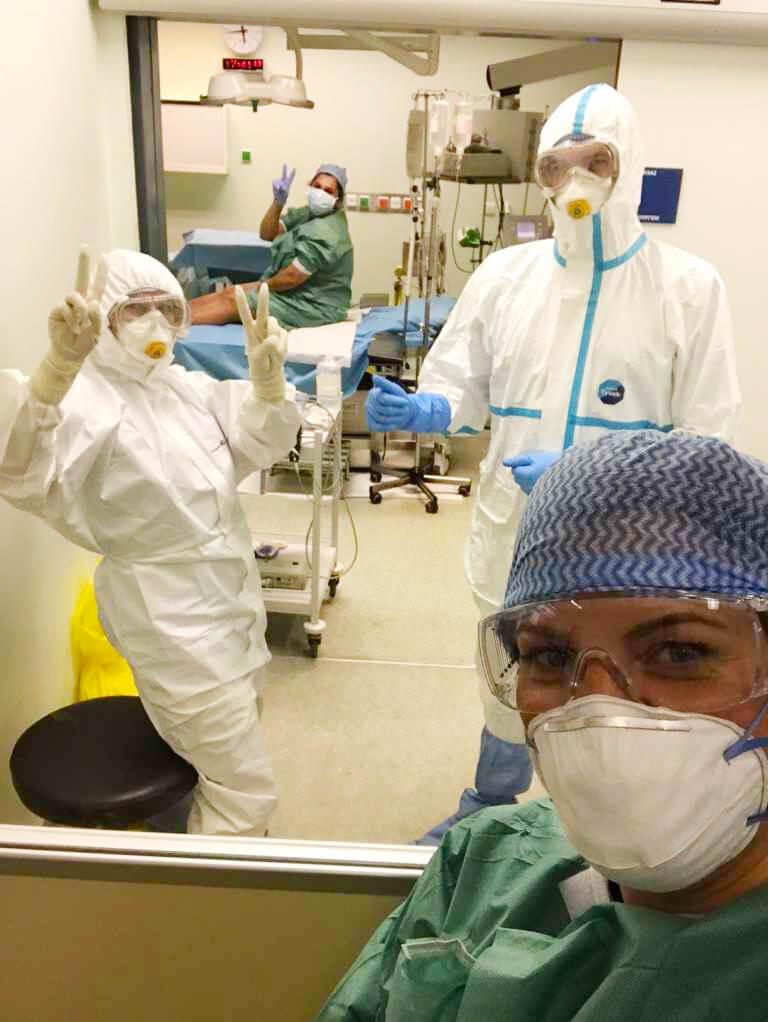 Τοκετός εγκύου θετικής στον κορωνοϊό στο Νοσοκομείο «ΑΤΤΙΚΟΝ»