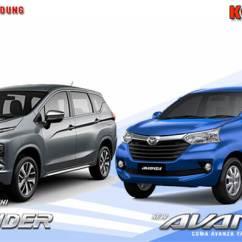 Xpander Vs Grand New Avanza All Kijang Innova 2.0 G Komparasi Mitsubishi Toyota Bandung