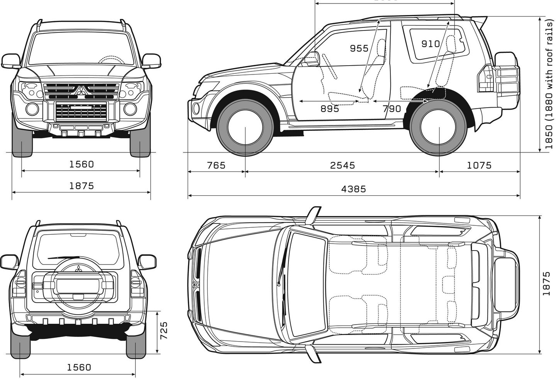 Blueprints Fur Off Roadmodelle