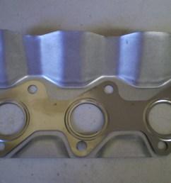 mitsubishi minicab exhaust gasket 3g83 u42 hemi head [ 1024 x 768 Pixel ]