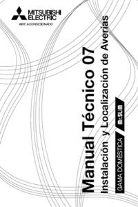 Guia Pocket 2007 Mitsubishi Electric - Manual técnico