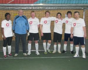 Die erste BVMW-Mannschaft beim B2Soccer-Turnier in München
