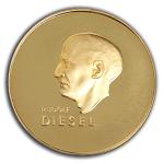 Dieselmedaille Verleihung