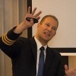 Nachlese: UnternehmerLounge mit Berufspilot Philip Keil