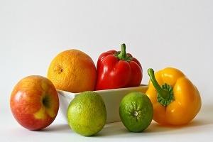 Lebensmittelkauf online Obst Foto